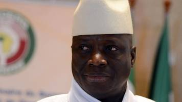 ex-gambian president yahya jammeh 'stole $50m' from state