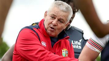 lions 'making good progress' - gatland