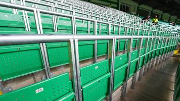 hearts consider safe standing section after studying celtic park experience