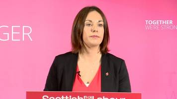 scottish labour launches general election manifesto