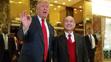 softbank chairman making good on promise to invest billions in the us