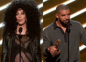 Billboard Music Awards 2017: Cher Nabs Icon Award, Drake Steals the Night With 13 Awards