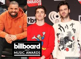 Billboard Music Awards 2017: Drake and The Chainsmokers Among First Winners
