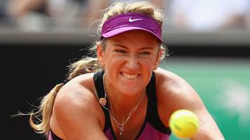 Victoria Azarenka targets Wimbledon on return after birth of her son