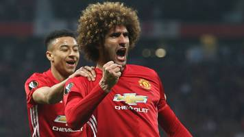 marouane fellaini: man utd midfielder says team-mates and jose mourinho trust him