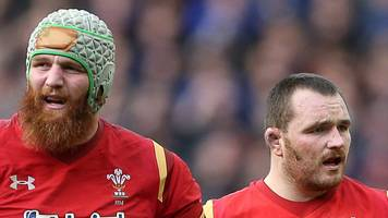 scarlets wales forwards owens and ball to miss pro12 final