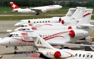 uk jets off with private plane fleet