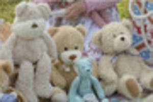 bampton's a buzz with parachuting bears and a duck race this...