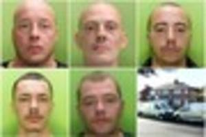 five men jailed for 100 years in tony fisher murder case