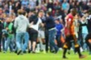 EFL brand pitch invasions 'unacceptable' and plan to speak to...