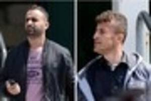 three men stopped on a38 bringing cocaine and cannabis into...