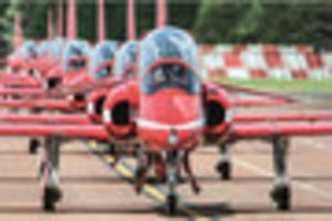 get a glimpse of what the first ever scampton airshow has to...