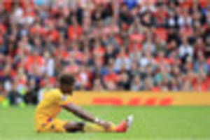 It's official! Crystal Palace ace is fouled more than any other...