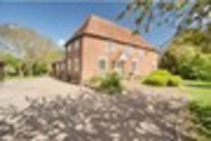 Look inside this stunning former farmhouse near Canterbury which...