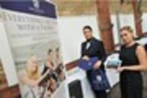 Dozens of jobs were on offer at jobs fair in Burton with more...