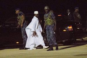gambia says former president jammeh stole at least $50 million
