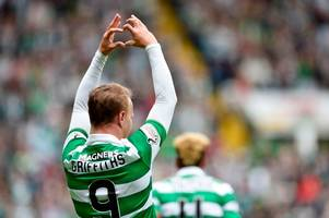 brendan rodgers' death-stare put celtic hitman leigh griffiths back in the zone after firhill outburst