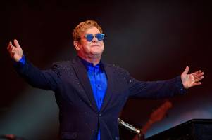 jake isaac hails insane privilege of supporting elton john in airdrie