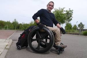 Scots inventor is on the case as he solves luggage problem for wheelchair travellers