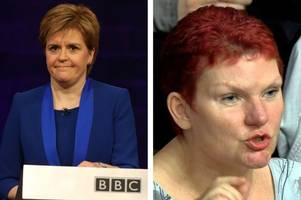 struggling nurse forced to use food banks puts nicola sturgeon on the spot over snp claims of extra millions for the nhs