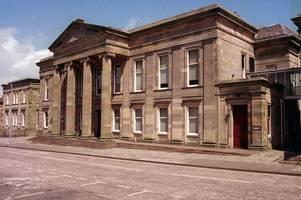 yob fined after struggle with police officers in stonehouse