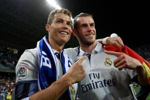 Gareth Bale faces being left out of Real Madrid team for the Champions League final in Cardiff