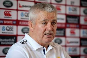 Warren Gatland upbeat on the fitness of injured quartet for Lions tour of New Zealand