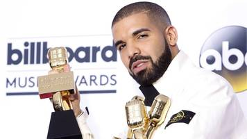 drake beats adele's billboard music awards record with 13 wins