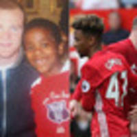 10 years on: From fan to Wayne Rooney's teammate