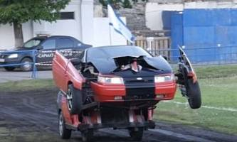 Lada-Based Optimus Prime Conversion Won't Win Any Beauty Pageants