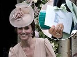 kate middleton praised for pippa's wedding church sketch