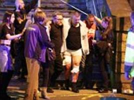 Parents look for kids after Manchester Arena bomb