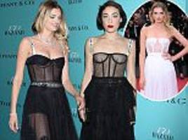 See-through Dior dress sweeping the red carpet