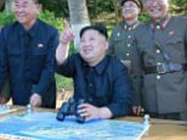 south korea opens fire at north korea's projectile