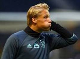 ajax boss bosz refuses to compare dolberg to ibrahimovic