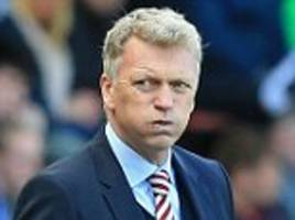 David Moyes wants Scotland job if Gordon Strachan leaves