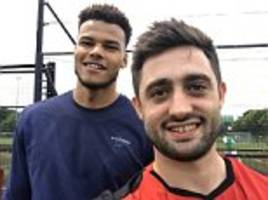 tyrone mings plays seven-a-side after tweet response
