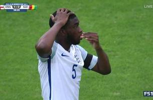 england concede bizarre own goal at u-20 world cup