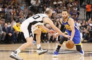 warriors eliminate spurs with 129-115 win in game 4