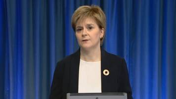 Manchester attack: Nicola Sturgeon statement