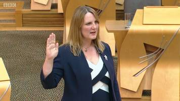 new conservative msp sworn in at holyrood