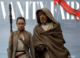 'star wars: the last jedi' new vanity fair covers offer new look at cast members
