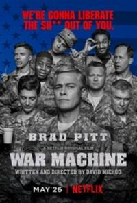 War Machine - cast: Brad Pitt, Topher Grace, John Magaro, Scoot McNairy, Will Poulter, Emory Cohen, Anthony Michael Hall, Keith Stanfield, Anthony Hayes