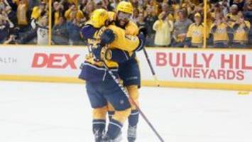 'What a place to play': Preds, Nashville putting on show