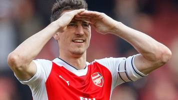 arsenal defender koscielny to miss fa cup final as appeal fails