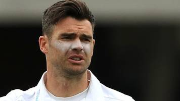 James Anderson: England and Lancashire bowler a doubt for South Africa first Test