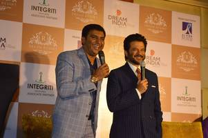 bollywood film star anil kapoor unveils dream india group's 300-acre mega resort and luxurious greek style villas real estate project