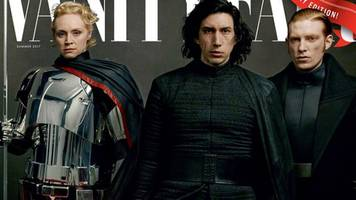 the last jedi cast take vanity fair covers for star wars' 40th anniversary