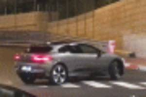 2019 Jaguar I-Pace spotted during photo shoot