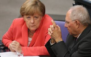 Germany's finance minister has his eyes on Londoon's euro clearing market